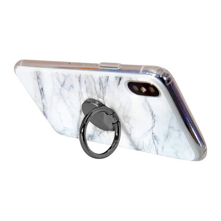 CASERY - Casery Gun Metal Mobile Phone Ring/Stand