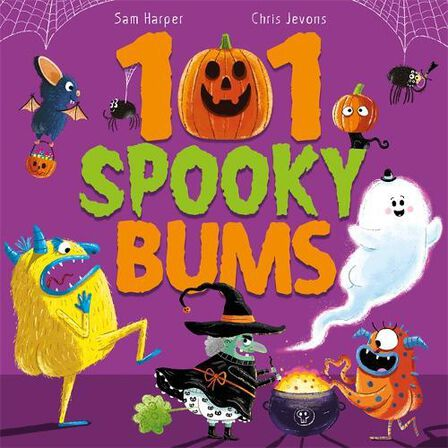 HODDER CHILDRENS BOOKS UK - 101 Spooky Bums