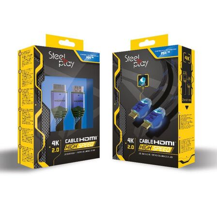 STEELPLAY - Steelplay 4K 2.0 HDMI Cable for PS4