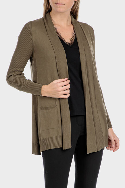 Punt Roma - Long knitted jacket