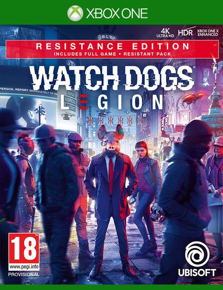 UBISOFT - Watch Dogs Legion - Resistance Edition - Xbox One