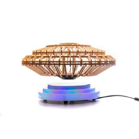 ALIEN WOOD - Alien Wood Floating Ufo Wooden Puzzle