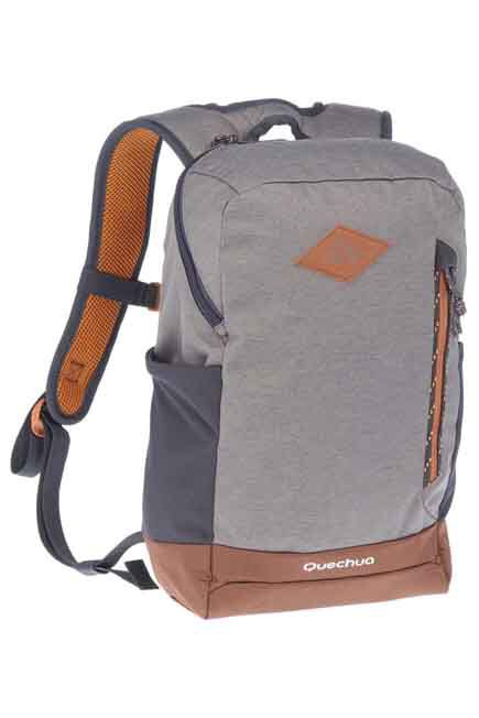 QUECHUA - 10L Country Walking Backpack NH500 - Grey, 10L