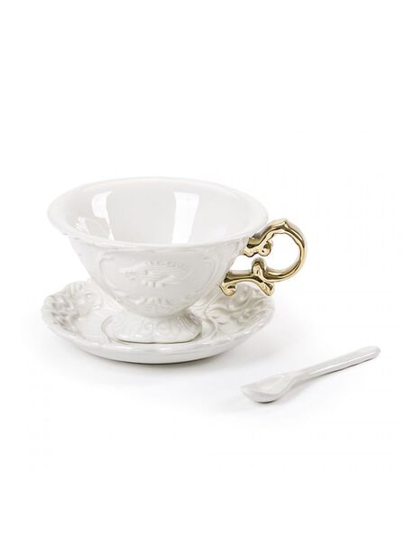 Seletti - I-Wares Tea Set Gold
