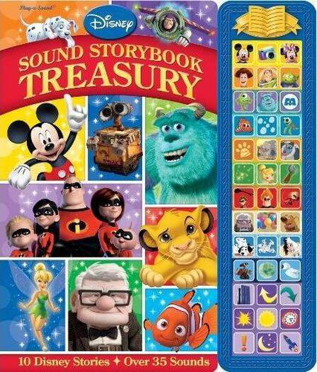 PUBLICATIONS INTERNATIONAL USA - Disney Sound Storybook Treasury