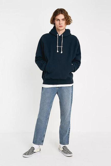 Urban Outfitters - Blue BDG Dad Heavy Light Wash Jeans, Men
