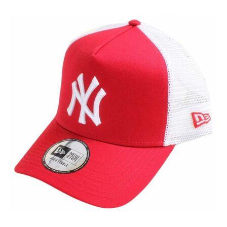 NEW ERA - New Era Mlb Clean Trucker 2 Ny Yankees Men's Cap Scarlet/White Os