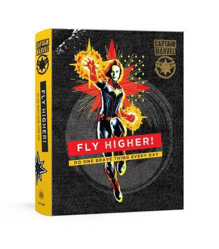 RANDOM HOUSE USA - The Captain Marvel Empowerment Journal Be Bold Every Day