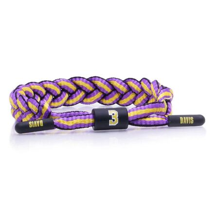 RASTACLAT - Rastaclat Anthony Davis Men's Bracelet Purple/Yellow