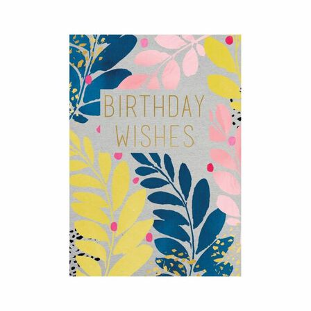 PIGMENT PRODUCTIONS - Aura Birthday Wishes Greeting Card 130X176