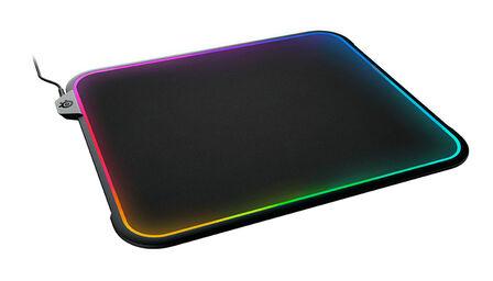 Steelseries - SteelSeries QCK PRISM Flash Pad Black