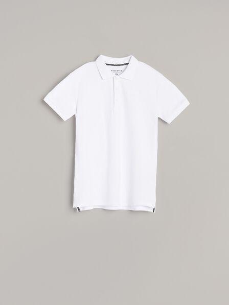 Reserved -  White Polo Shirt , Kids Boy