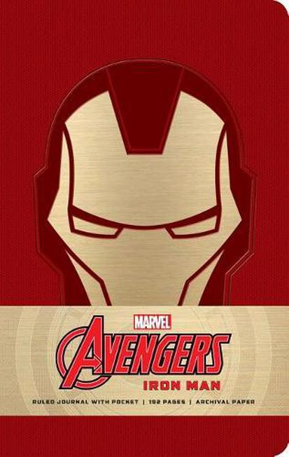 INSIGHT EDITIONS - Marvel Iron Man Hardcover Ruled Journal