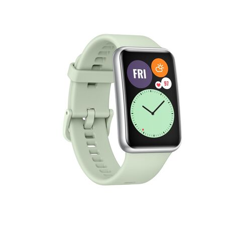 HUAWEI - Huawei Watch Fit Mint Green Smart Watch