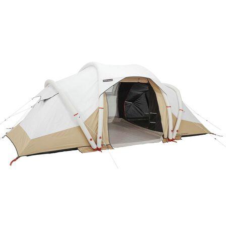 QUECHUA - Unique Size  Inflatable Camping Tent Air Seconds 4.2 Fresh&Black  4 Persons 2 Bedrooms, Default
