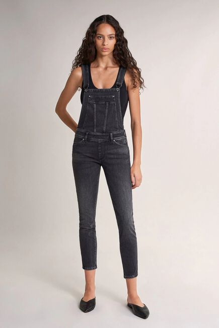 Salsa Jeans - Black Push Up Wonder cropped dungarees