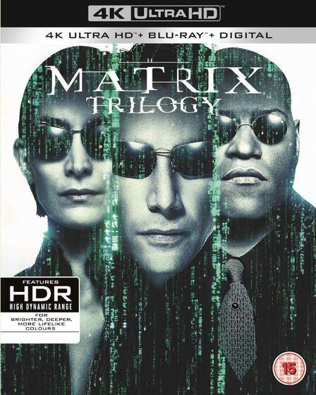 WARNER HOME VIDEO - The Matrix Trilogy [4K Ultra-HD][9 Disc Set]