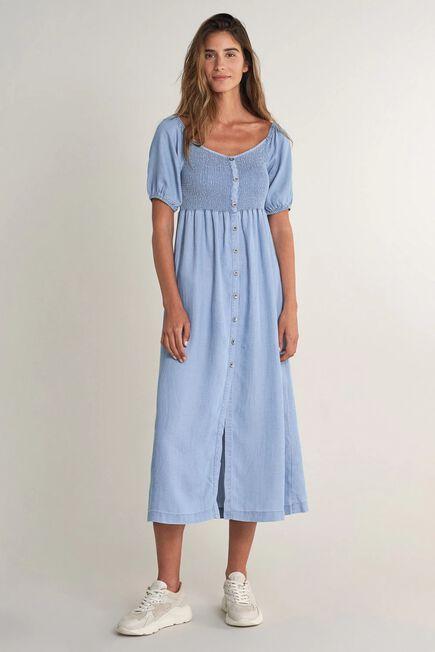 Salsa Jeans - Blue Tencel long dress