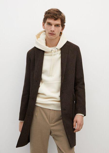 Mango - light beige Hoodie cotton sweatshirt