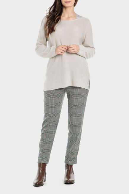 Punt Roma - Checked trousers