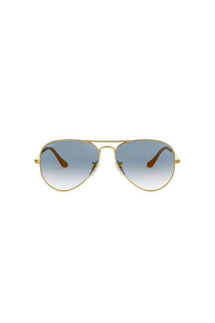 RAY-BAN - Gold Pilot Ray-Ban RB3025 AVIATOR GRADIENT