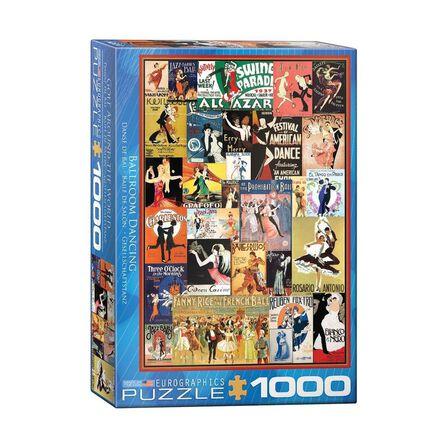 EUROGRAPHICS - Eurographics Ballroom Dancing 1000 Pcs Jigsaw Puzzle