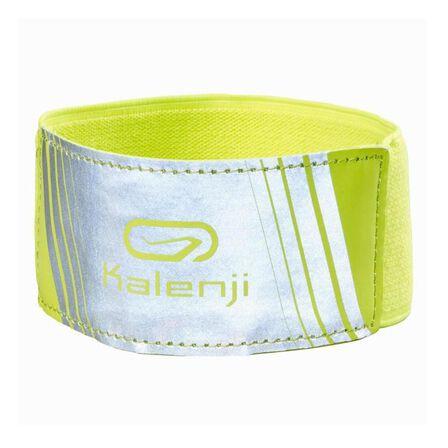 KIPRUN - Medium  SAFETY RUNNING ARMBAND - YELLOW, Fluo Yellow
