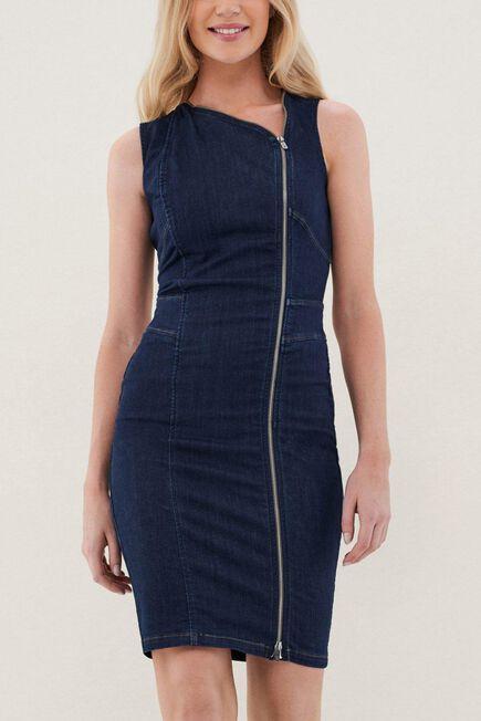 Salsa Jeans - Blue Secret Denim Dress