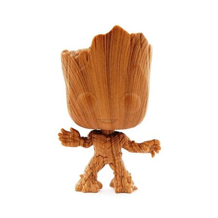 FUNKO TOYS - Funko Pop Movies Guardians of the Galaxy 2 Groot Wood Special Edition Vinyl Figure