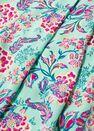 Mango - green Flowy printed trousers, Women