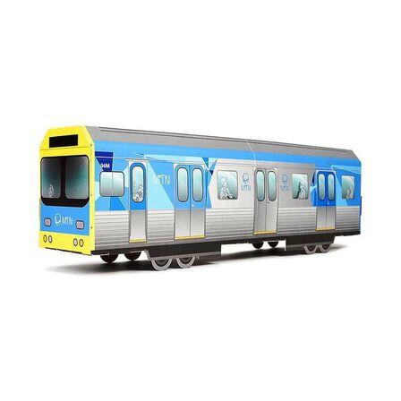 MONTANA COLORS SL - Montana Colors MTN Systems Miniature DIY Subway Car Melbourne Metro Train