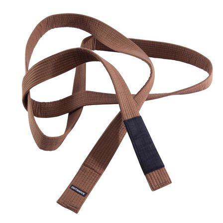 OUTSHOCK - A1  275 cm Brazilian Jiu-Jitsu Belt - Dark Sepia