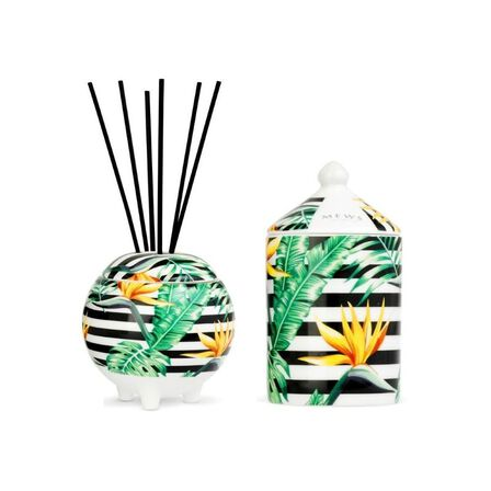 MEWS COLLECTIVE - Mews Birds Of Paradise Mini Gift Set 100ml Diffuser And 100ml Candle