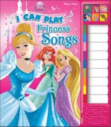 PHOENIX INTERNATIONAL PUBLICATIONS - Disney Princess - I Can Play Princess Songs