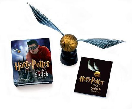 RUNNING PRESS USA - Harry Potter Golden Snitch Sticker Kit