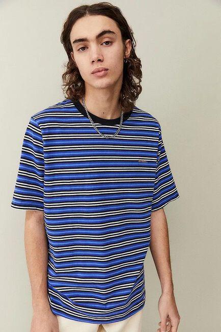 Urban Outfitters - Blue iets frans... Skinny Stripe T-Shirt, Men