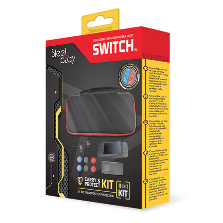 STEELPLAY - Steelplay 11-In-1 Carry & Protect Kit for Switch