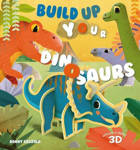 WHITE STAR UK - Build Up Your Dinosaurs