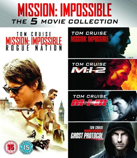 PARAMOUNT HOME ENTERTAINMENT - Mission Impossible 5 Movie Collection [5 Disc Set]
