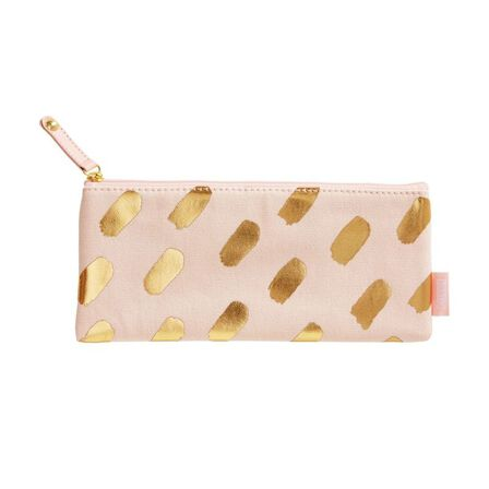 KIKKI.K - kikki.K Canvas Pencil Case Luxury Soft Coral