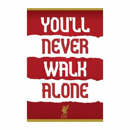 PYRAMID POSTERS - Pyramid Posters Liverpool FC You'll Never Walk Alone