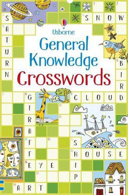 USBORNE PUBLISHING LTD UK - General Knowledge Crosswords