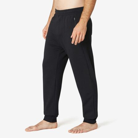 NYAMBA - W41 L34  Fitness Jogging Bottoms with Zip Pockets, Black