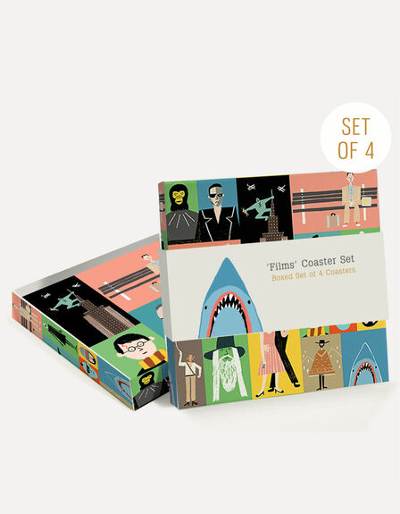 USTUDIO DESIGN LTD - Ustudio Films Coasters [Set of 4]