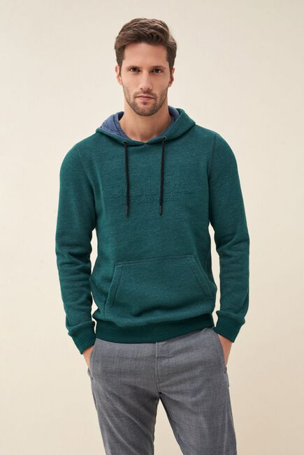 Salsa Jeans - Green Hoodie with logo