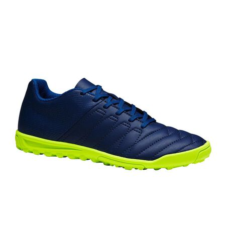 KIPSTA - EU 36  CLR 500 HG Children's Hard Pitches Football Boots - /Neon, Inkpot Blue