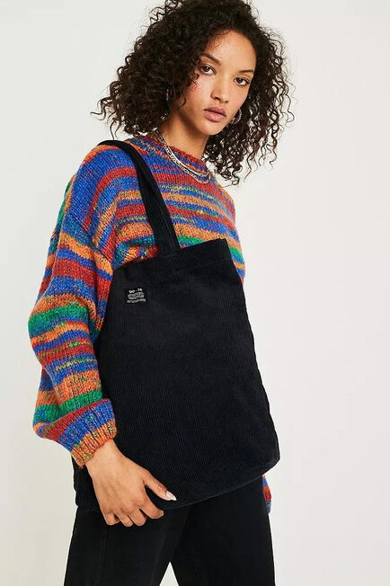 Urban Outfitters - BLK UO Corduroy Tote Bag