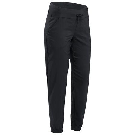 QUECHUA - W34 L31 Women's Country Walking Trousers NH100 - Black