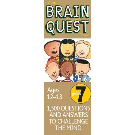 WORKMAN PUBLISHING USA - Brain Quest Grade 7 Revised 4Th Ed