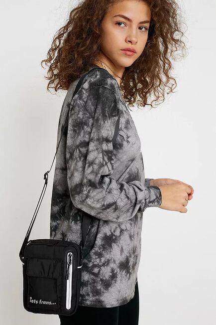 Urban Outfitters - Black iets frans... Nylon Crossbody, Women